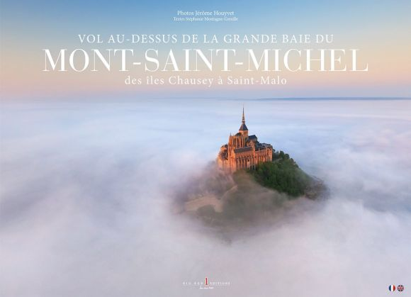 Book Cover - Vol Au-Dessus de la Grande Baie du Mont-Saint-Michel by Jerome Houyvet