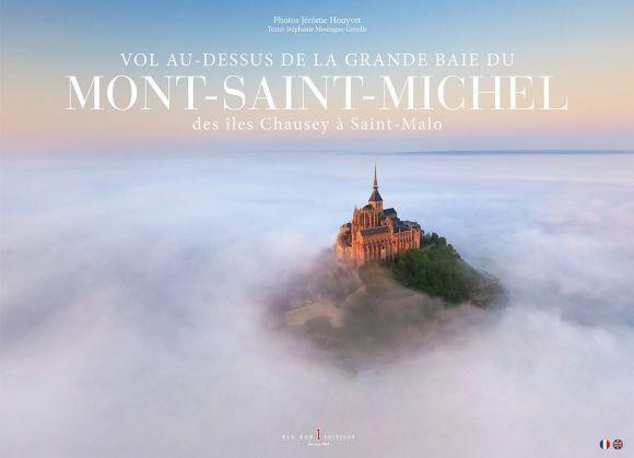 Book Cover - Vol Au-Dessus de la Grande Baie du Mont-Saint-Michel by Jerome Houyvet